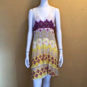 Diane von Furstenberg Cotton/Silk Dress size 8